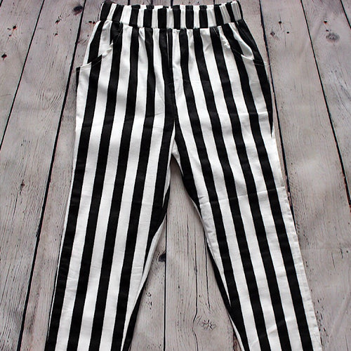Keep It Poise Pant - White/Black