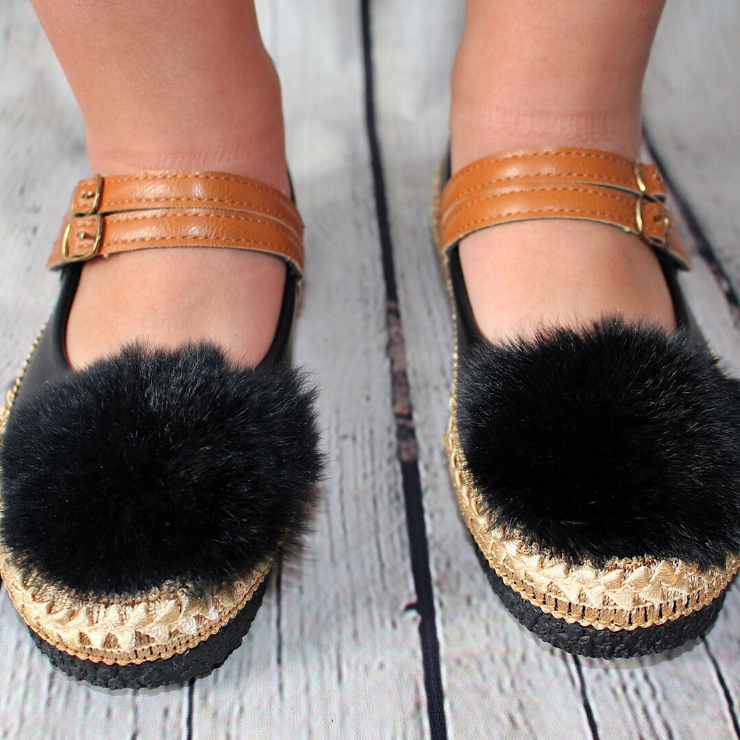 You Fancy Espadrille - Black