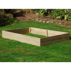 6' Wooden Raised Bed Kit 2 Tier