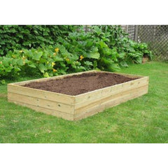 8' Wooden Raised Bed Kit 3 Tiers