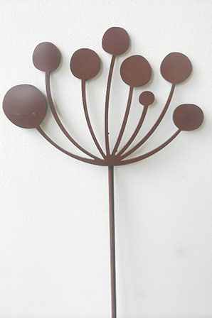 Decorative Cow Parsley Plant Stake