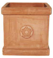 Heritage Rose Box Pot Planter