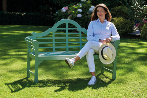 Greenhurst Garden Bench - Sage Green