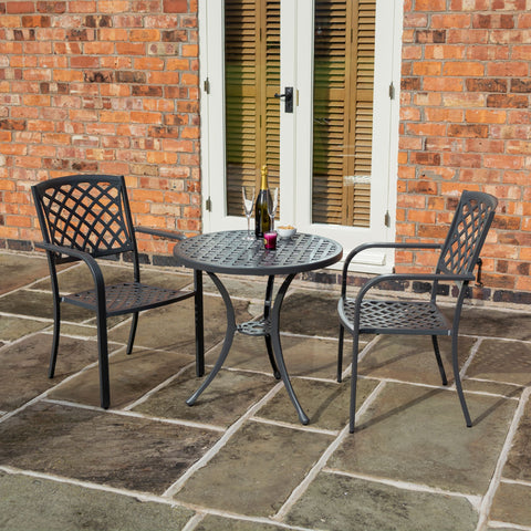 Heritage Lattice Bistro Set