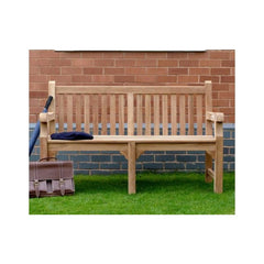 Solid Teak Benches Garden Furniture And Garden Building Specialists Heritage Gardens