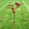 Birds Feeding Wind Rocker