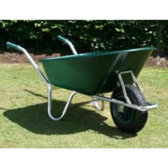 County Countryman Wheelbarrow Green 130L