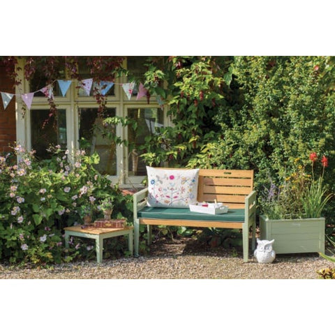 Florenity Verdi Two Seat Bench - Garden Benches
