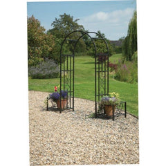 Gablemere Huntingdon Ornamental Arch and Planters