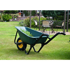 Lasher Ecobarrow 70L Poly Wheelbarrow with Pneumatic Wheel