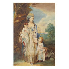 Mrs Moody & Her Children - George Dunlop Leslie R.A.