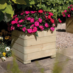 Rowlinson Marberry Square Planter