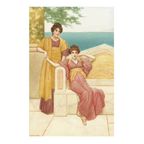 Portrait of Grecian Ladies - Herbert Blande Sparkes - Riviera Gallery Fine Art Prints