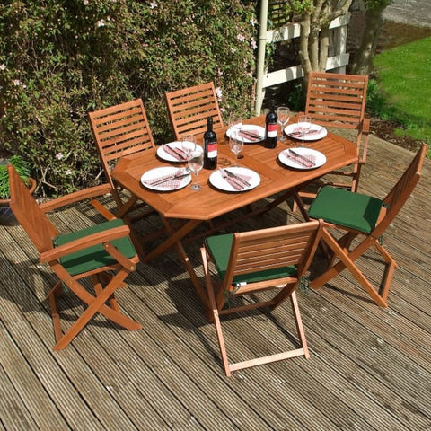 Rowlinson Plumley Dining Set - Garden Furniture Sets
