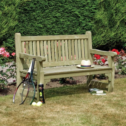 Rowlinson Softwood Bench - Garden Benches