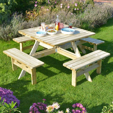 Rowlinson Square Picnic Table - Picnic Tables