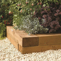 Rowlinson Timber Blocks 1.8m (Pack of Two)