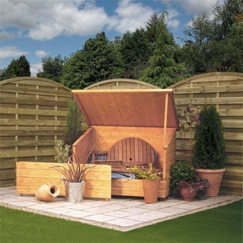 Rowlinson Timber Garden Chest - Wooden Garden Sheds
