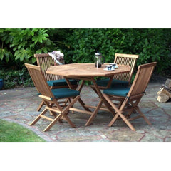 St. Raphael 9 Piece Octagonal Outdoor Dining Set