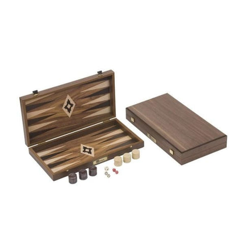 Walnut Backgammon Set - Indoor Games