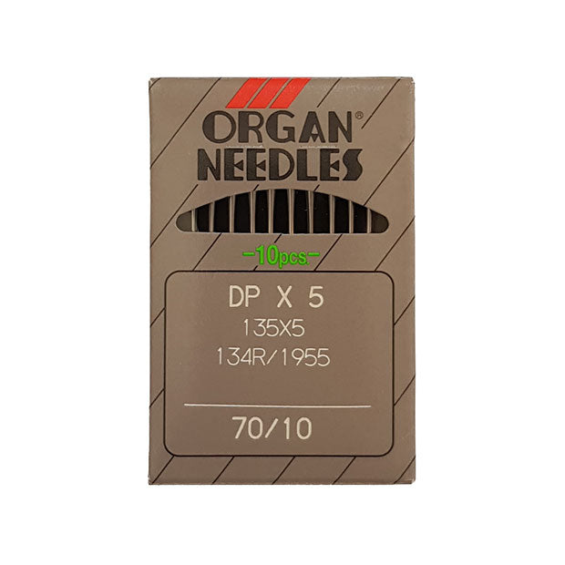 Organ 134R Needles for Industrial Sewing Machines 70/10