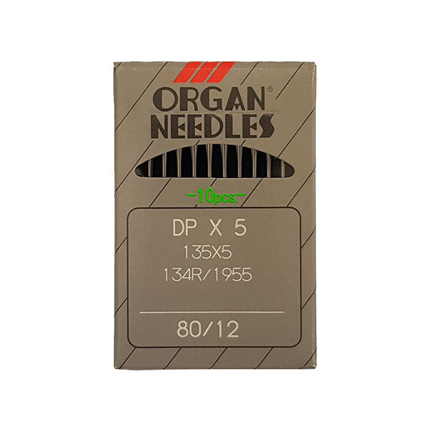 Organ 134R Needles for Industrial Sewing Machines 80/12