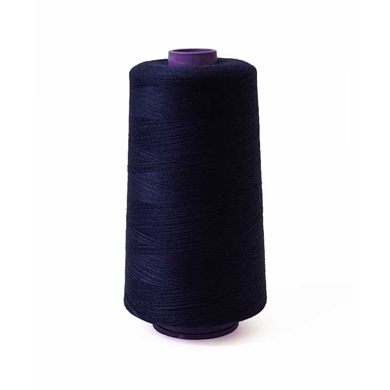 Top Quality Polyester Sewing/Overlocking Thread 40/2 - Navy 5000m