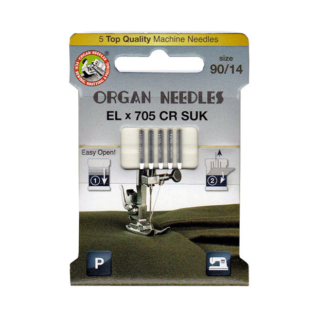 Organ Ball Point Needles Size 90