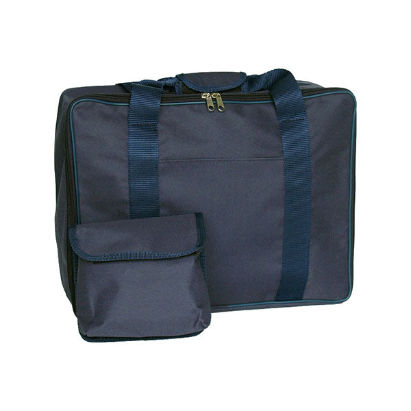 Blue Canvas Sewing Machine Bag