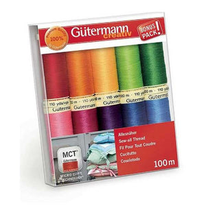 Gutermann Sewing Thread Set・Sew All - BRIGHT