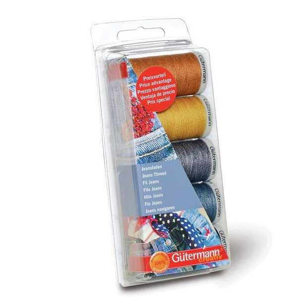 Gutermann Sewing Thread Set - Jeans, Extra Strong