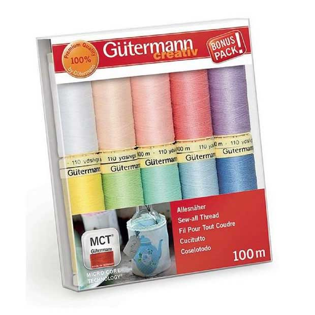 Gutermann Sewing Thread Set・Sew All - PASTEL