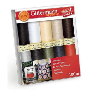 Gutermann Sewing Thread Set・Sew All - PRIMARY