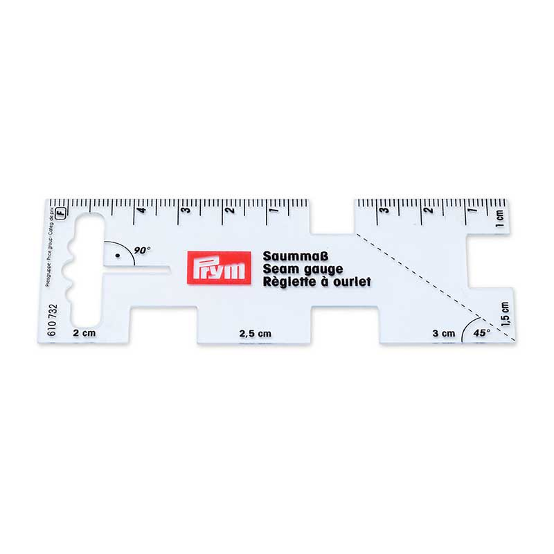 Prym Seam Gauge; Quarter/Seam Rule