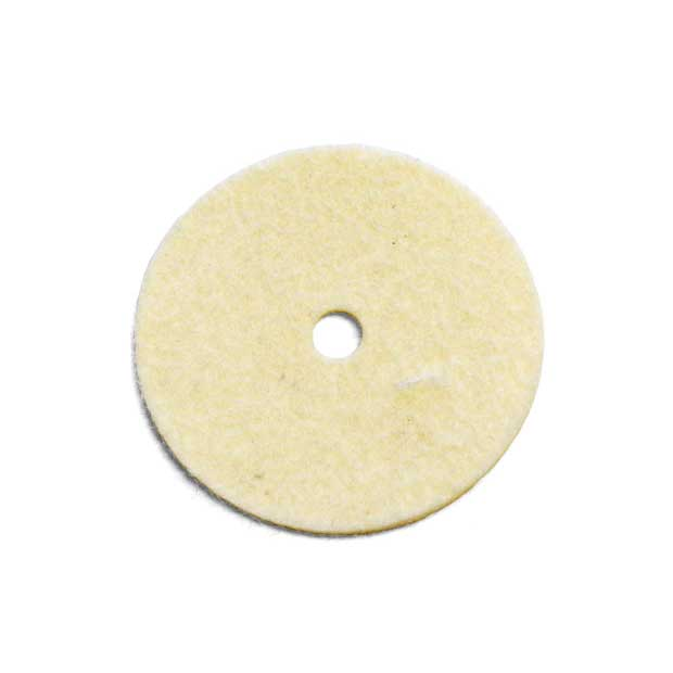 A round felt pad for Spool Pin.  5 cm in diameter