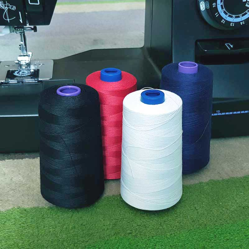 Top Quality Polyester Sewing/Overlocking Thread 40/2 - White 5000m
