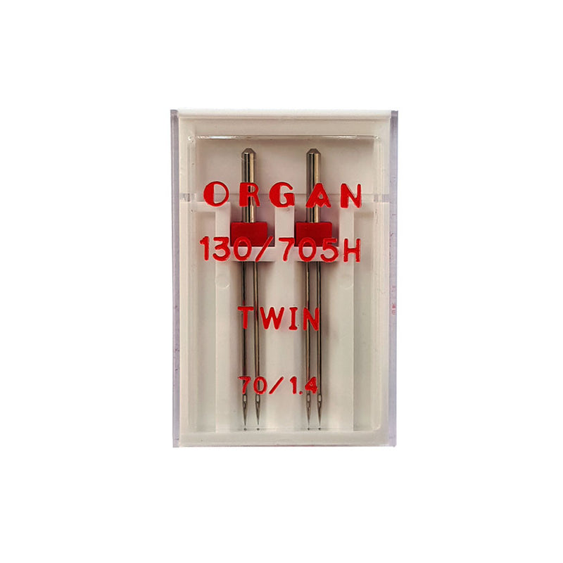 Organ Twin Needle 130/705H Size 70/1.4