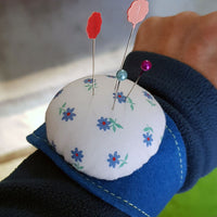 Pin Cushion Wrist Band