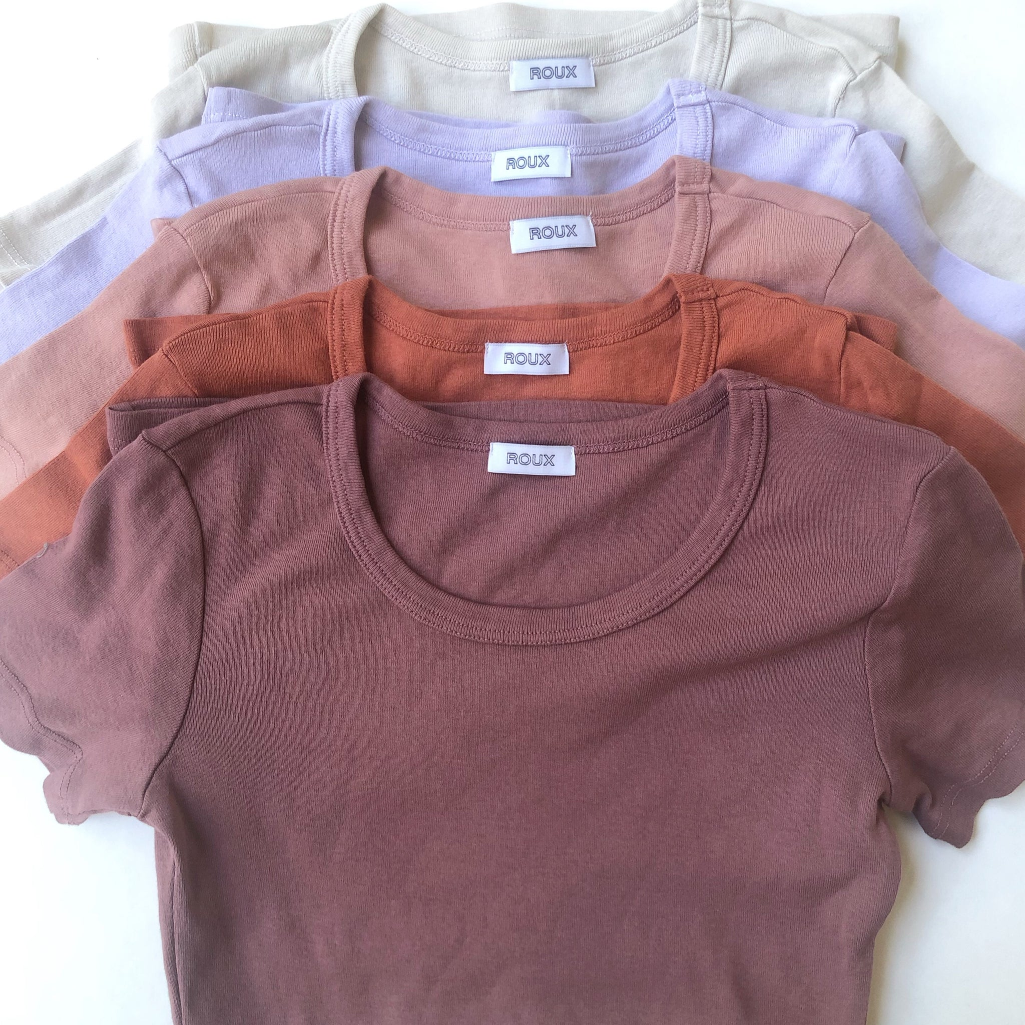 Women's Cotton Ribbed T-shirt