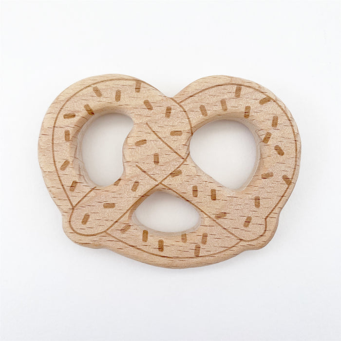 Wooden Pretzel Teether