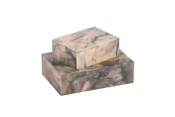Marblesque Resin Handcrafted Box Set