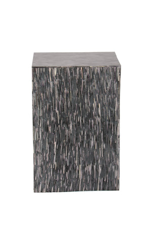 Bone Inlay textured Handcrafted Side Table