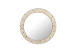 Natural Bone Patterned Inlay Wall Mirror
