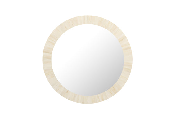 Natural Bone Inlay Wall Mirror
