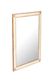 Mango Wood & Natural Bone Inlay Wall Mirror