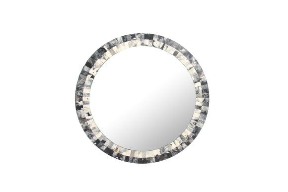 Resin Inlayed Mosaic Wall Mirror