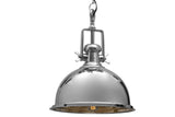 Castle Chroma Handcrafted Chrome Pendant Light