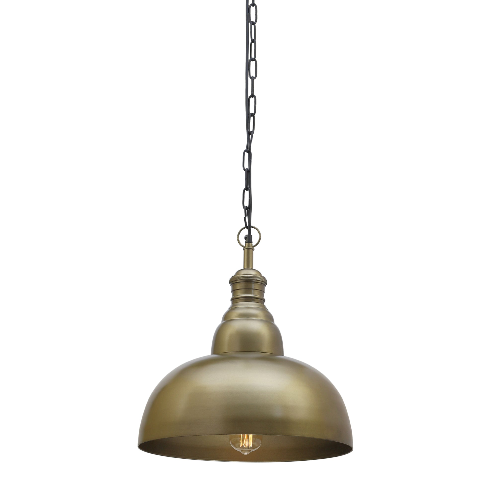 Grande' Handcrafted Antique Brass Pendant Light