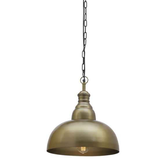 Large Brass pendant light