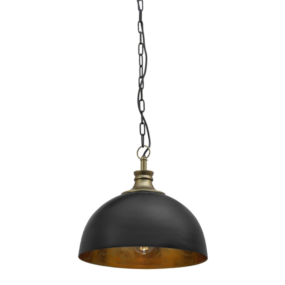HOPE BLACK AND GOLD PENDANT LIGHT INDUSTRIAL COMMERCIAL FOR KITCHEN CAFE RESTAURANT